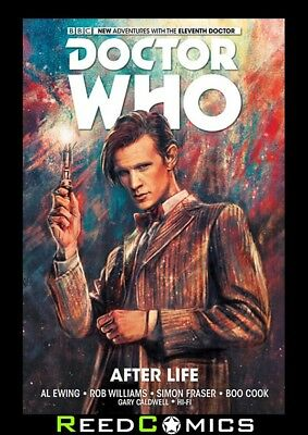 DOCTOR WHO 11TH DOCTOR AFTER LIFE VOLUME 1 GRAPHIC NOVEL Paperback Collects #1-5