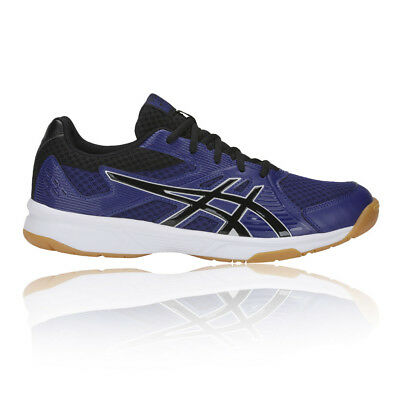 Asics Mens Gel-Upcourt 3 Indoor Court Shoes Purple Sports Breathable Lightweight