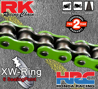 RK Green  XW-Ring  Drive Chain 530 P - 120 L for Yamaha YZF-R1