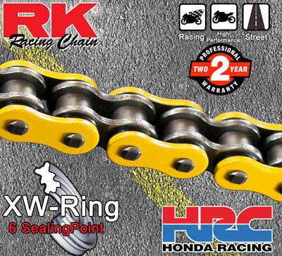 RK Yellow  XW-Ring  Drive Chain 530 P - 120 L for Yamaha YZF-R1