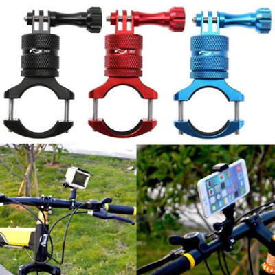 Aluminium Roll Bar Handlebar Seatpost Bike Mount Clamp for GoPro Hero  5/4/3+