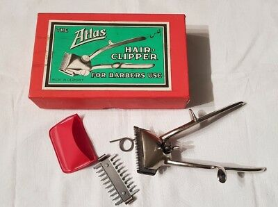 Taglia Capelli Hair Clipper Barbiere Lame Rasoio Atlas  Completo