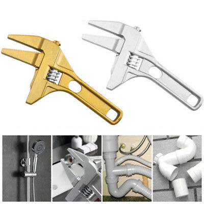 1pc 7-70mm Spanner Wrench Short Shank Large Opening Ultra-Thin For Sanitary Ware