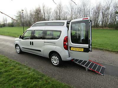 2013 FIAT DOBLO 2.0 Multijet HIGHROOF Wheelchair Accessible Adapted Vehicle WAV