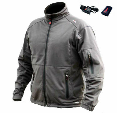 Gerbing Heated Clothing Soft Shell Core Heat 7V Men's Black Jacket Size L Large