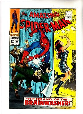 Amazing Spider-Man 59 1st Mary Jane cover