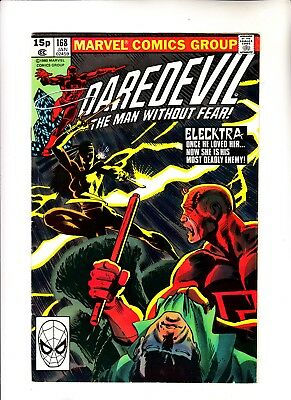 Daredevil 168 1st app of Elektra