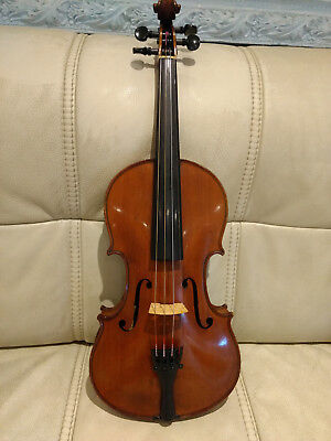 Very Rare Old Antique Anton Hoffman Violin 4/4 Maker to Austrian Imperial Court