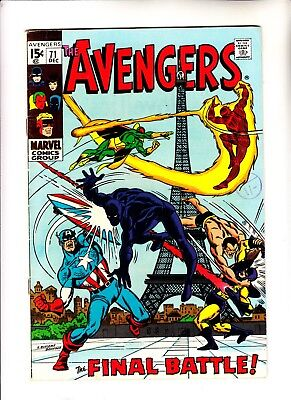 Avengers 71 1st app of The Invaders