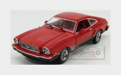 Ford Usa Mustang Mach 1 Coupe 1973 Red Black Greenlight 1:18 GREEN12867 Model