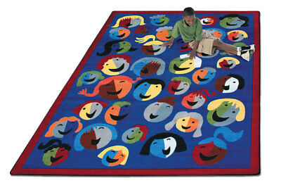 IncStores Joy Carpets Joyful Faces Kids Rug
