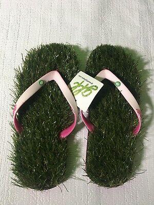 1c3ad4030 WOMENS GRASS FLIP Flops Fits 5 1 2 To 7 - Nwt -  9.99