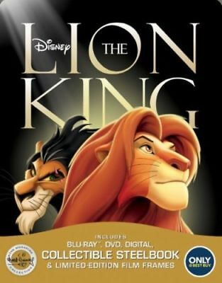 The Lion King Best Buy Exclusive Steelbook/The Signature Collection Blu Ray New