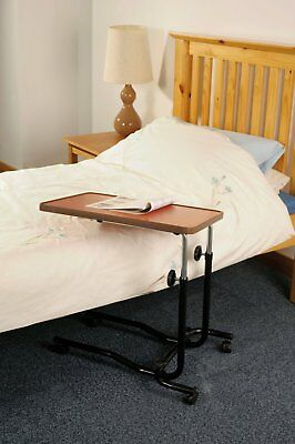 NEW Overbed Table with Height & Angle Adjustable with Four Wheels SPECIAL OFFER!
