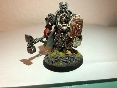 Warhammer 40k Blood Angels Captain Chapter Master Lysander Space Marines Pro Pai