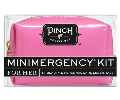 Pinch Minimergency Kit Emoji Pink