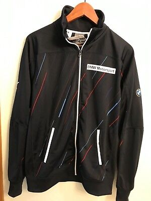 47339b3ae8f PUMA BMW M Series Men s Track Jacket Motorsport F1 Drivers Full Zip size L