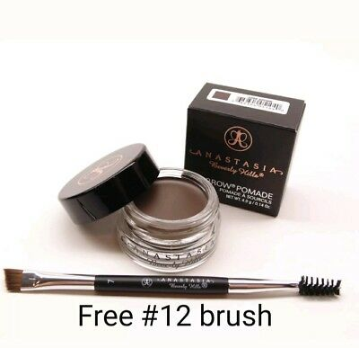 Anastasia Beverly Hills Dipbrow Pomade w Free  #12 Brush Fast Shipping US seller