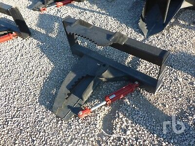 UNUSED MID STATE Skid Steer Tree Shear Skid Steer Attachment
