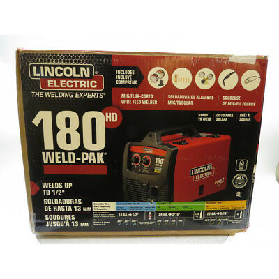 Lincoln Electric K2515-1 180 Amp Weld-Pak 180 HD MIG Wire Feed Welder