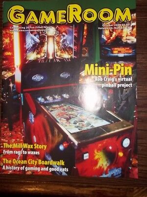 GameRoom Magazine - October 2008 Vol. 20 No.10 Free Shipping!