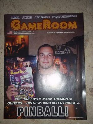 GameRoom Magazine Sept 2004 Vol 16. No 9. Free Shipping!