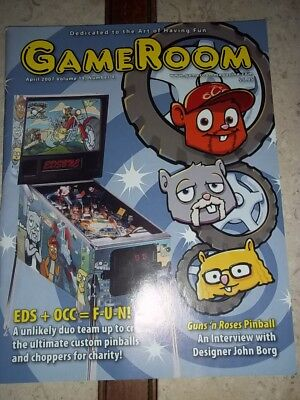 GameRoom Magazine -April 2007 Vol 19 No 4. Free Shipping!
