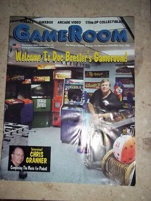 GameRoom Magazine - Dec 2003 Vol.15 No.12 Free Shipping!