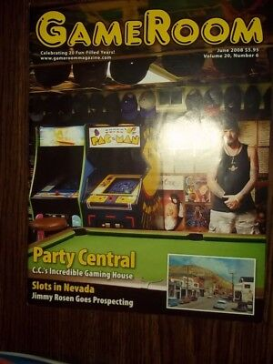 GameRoom Magazine - June 2008 Vol.20 No.6  Free Shipping!