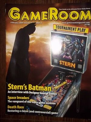 GameRoom Magazine - Feb 2009 Vol.21 No.2 Free Shipping!