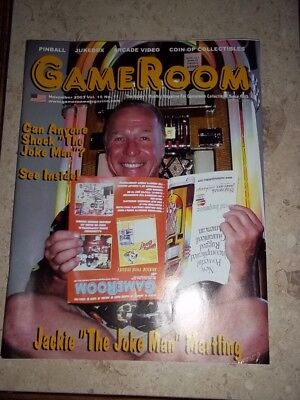 GameRoom Magazine -Nov 2003 Vol 15. No 11. Free Shipping!