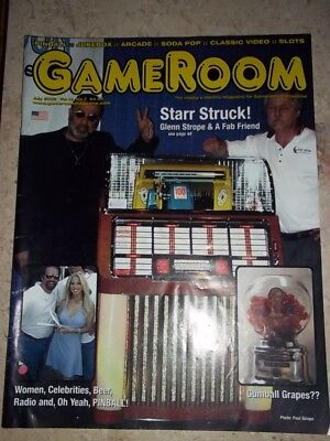 GameRoom Magazine Jul 2002 Vol 14. No 7. Free Shipping!