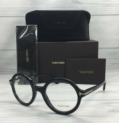 29040a6769bc TOM FORD TF5461 001 Shiny Black   Demonstration Lens 52mm Eyeglasses ...