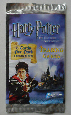 Harry Potter Prisoner of Azkaban Trading Card Sealed Pack 6 Cards