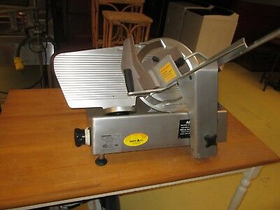 Bizerba Commercial Heavy Duty  Meat Cheese Deli Slicer MODEL SE12..WORKS