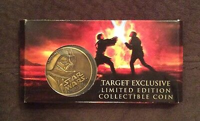 NEW Star Wars Episode III 3 Darth Vader Collector Coin Limited Edition LE RARE