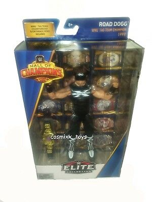 Wrestling Elite Hall Of Champions Road Dogg With Tag Team Championship 1998