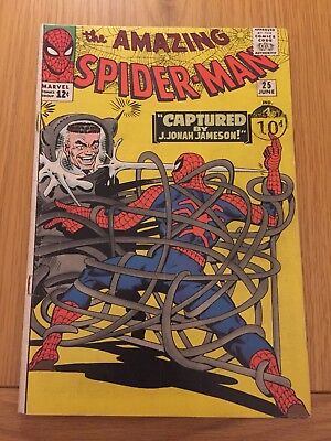 THE AMAZING SPIDER-MAN #25 - 1st Mary Jane Watson Cameo Silver Age Cents Copy