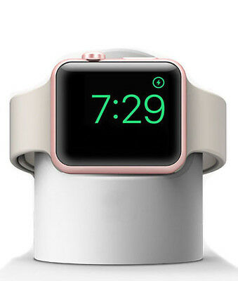 White Desktop Dock Magnetic Charger Station for Apple Watch Series 3/2/1 iWatch