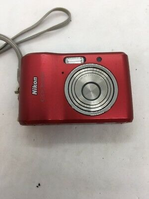 Nikon COOLPIX L18 8.0MP Digital Camera - Red - Fast Ship - C19
