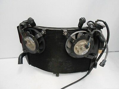 2007 2008 Yzfr1 Yzf R1 07 08 Oem Radiator Coolant Fan Cooling System Assembly
