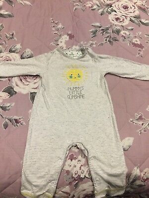 Three baby boy babygrrowsv- 3 - 6 months.  John Lewis, M & S and Mothercare
