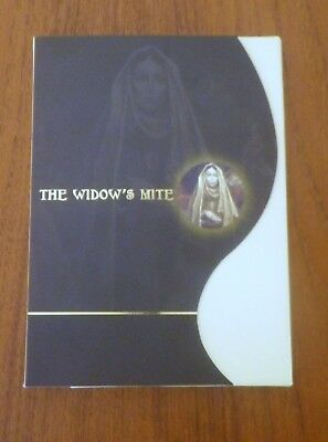 The Widow's Mite Ancient Judahism Coin Biblical in Folder with COA