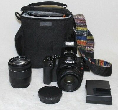 Canon Eos Rebel Sl2 24.2Mp Camera Bundle 50Mm & 18-55Mm Zoom Lens,plus
