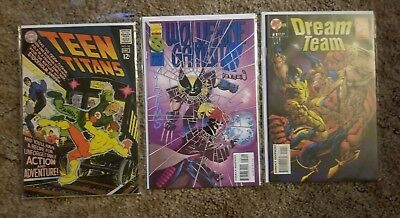 Teen Titans #18 Signed By Len Wein Plus Extras