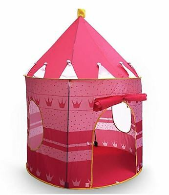 NEW Children Princess Castle Play Tent Toy Conveniently Folds into Carrying Case