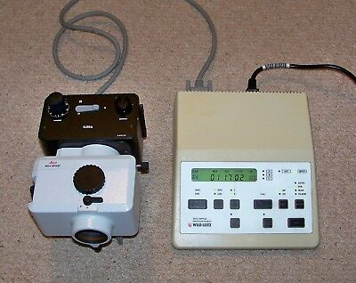 Leitz Wild MPS 46 Photoautomat Controller with MPS52 Shutter and 35mm Camera.