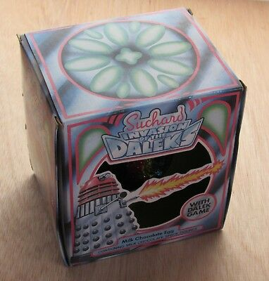 Dr Doctor Who Invasion of the Daleks Game - Suchard Easter Egg 1983