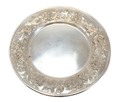 S. Kirk & Son Sterling Silver Bread & Butter Plate Repousse #127F