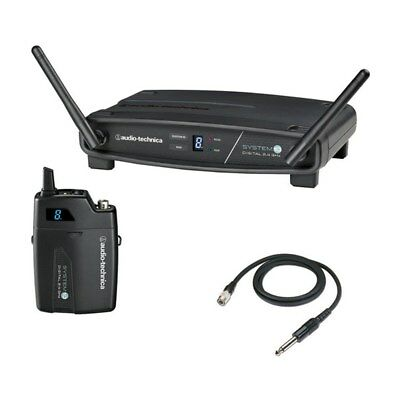 Audio-Technica ATW-1101/G System 10 Digital Wireless Set For Electric Guitar NEW